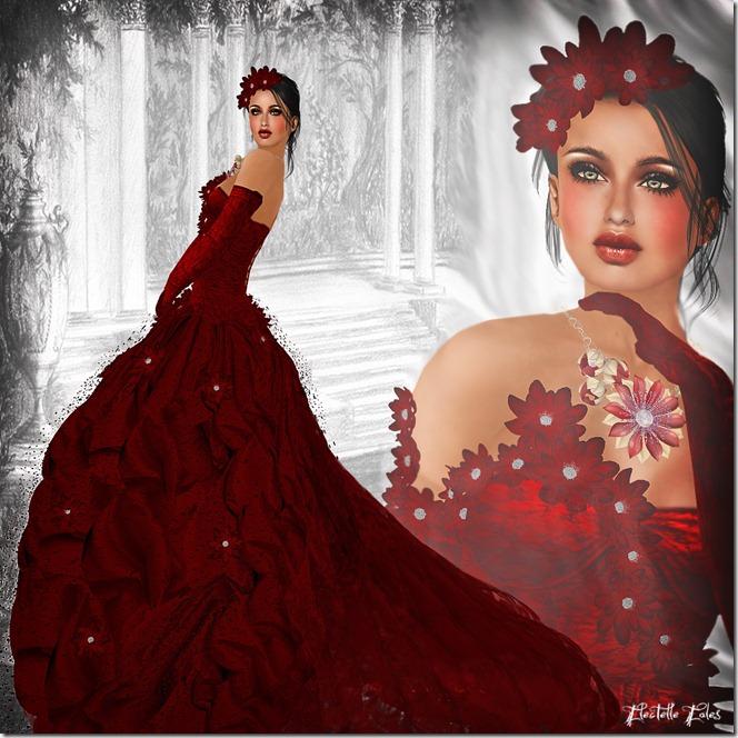 AD Gloria red rose blog