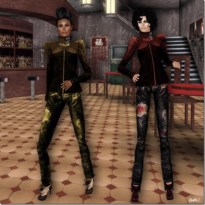 Kunglers Morgana & Rita pants